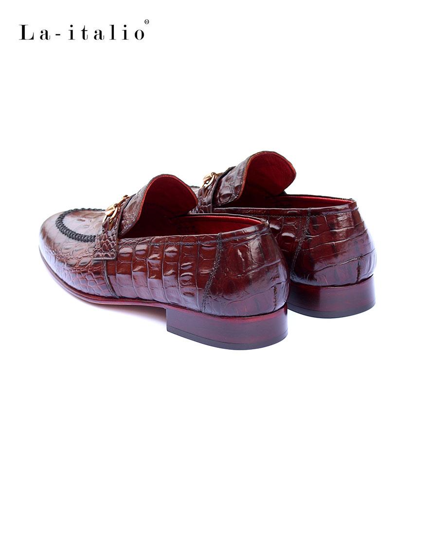 croc slay-burgundy