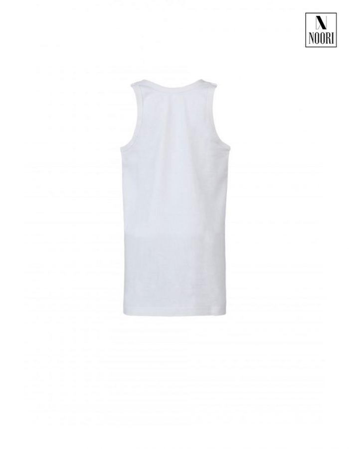 White Sleeveless Vest