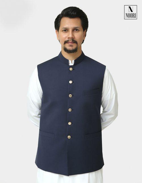Waistcoat Navy Blue