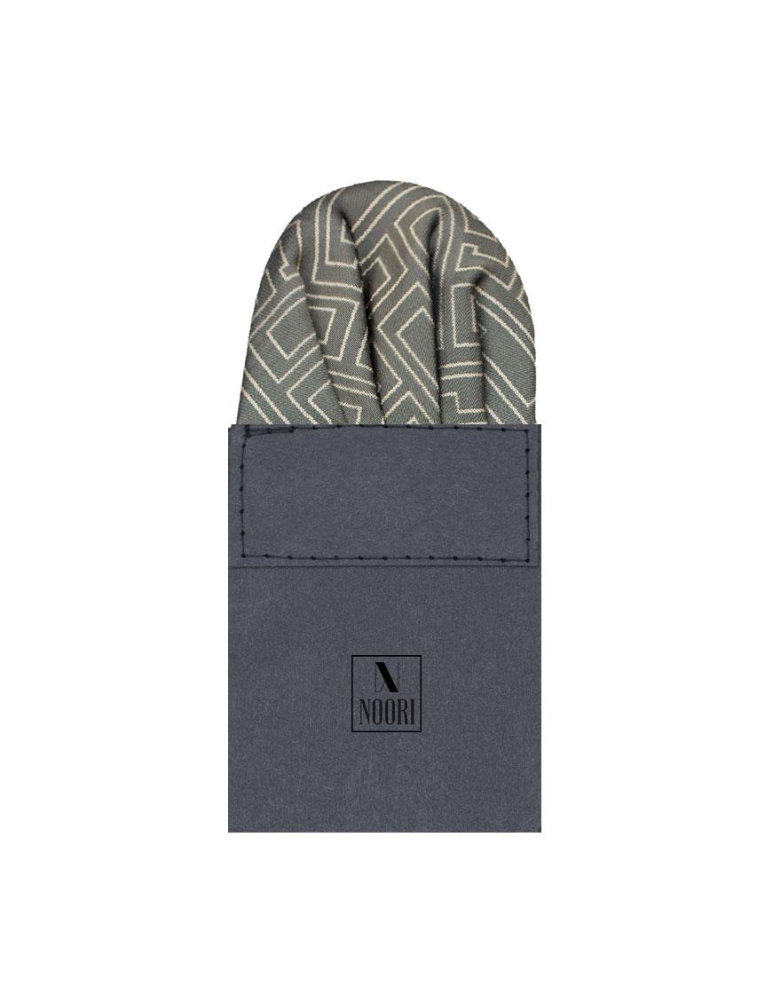 Pocket Square Black Design