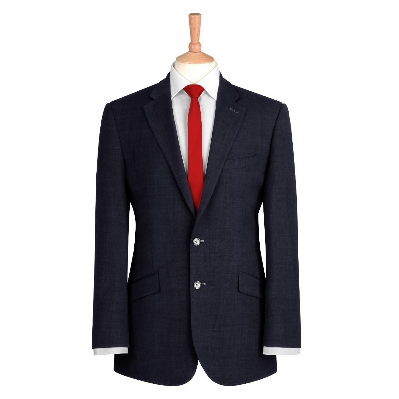 Black Plain Suit