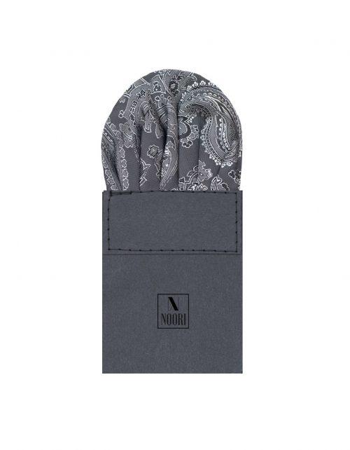 Pocket Square Dark Grey