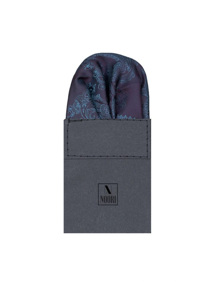 Pocket Square Dark Purple