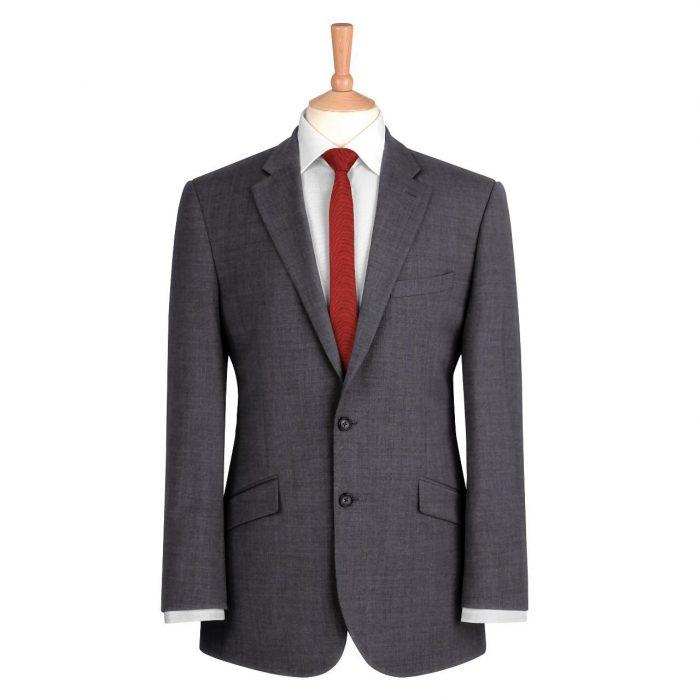 Grey Plain Suit