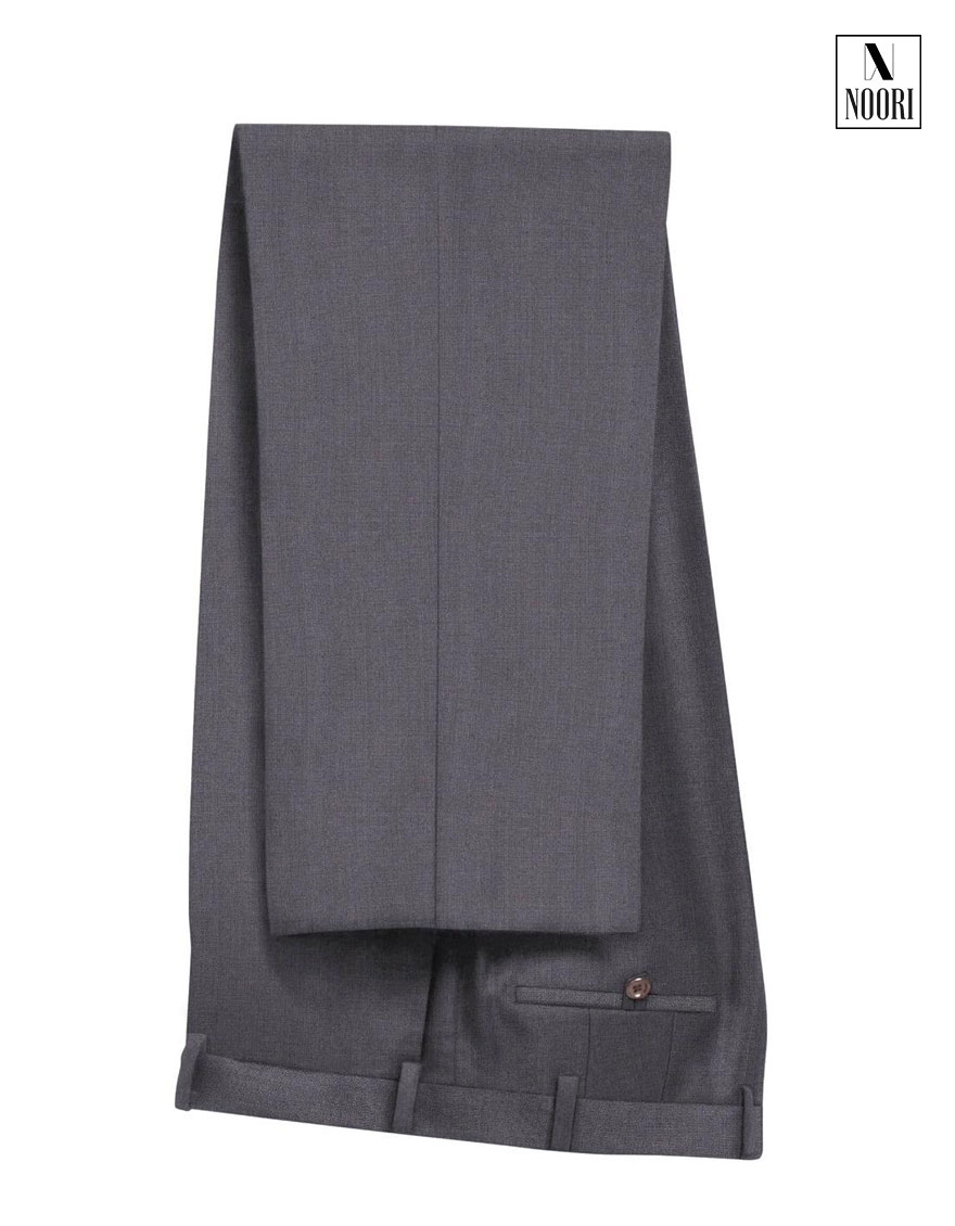 Grey Plain Pant