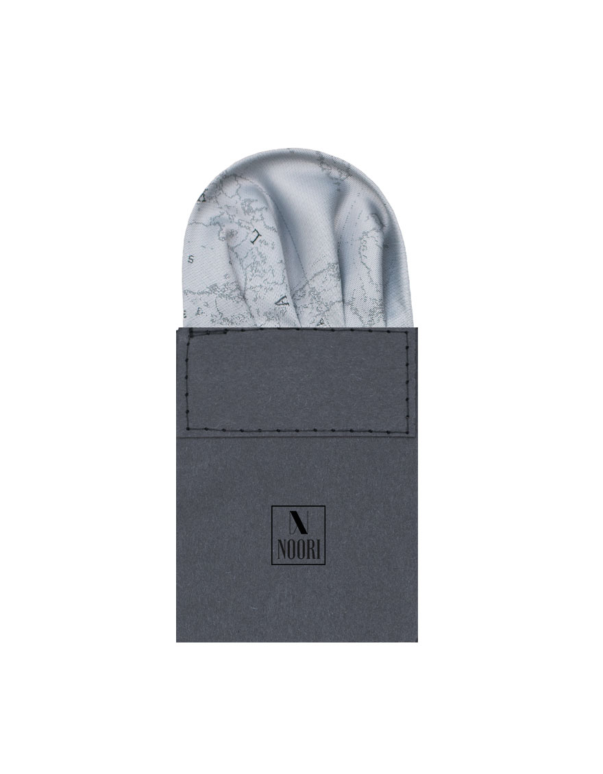 Pocket Square Grey