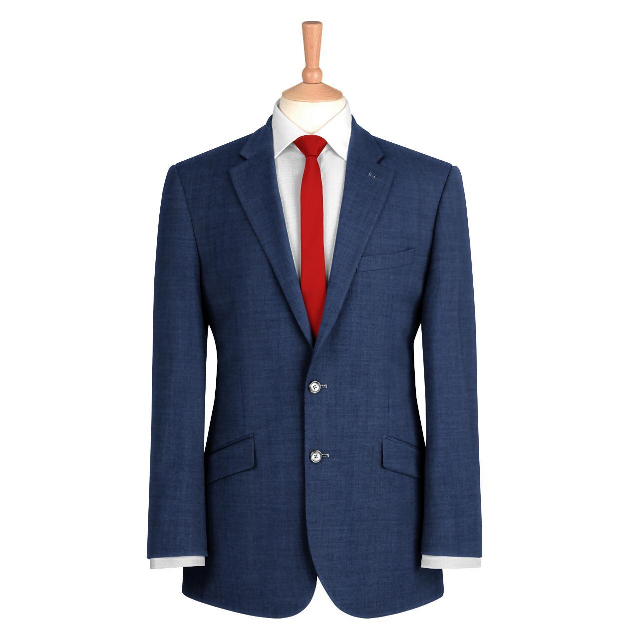 Navy Blue Plain Suit